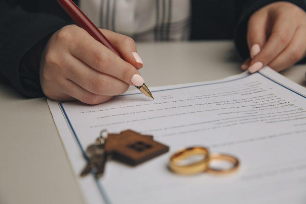 הסכם שלום בית לחלופין גירושין